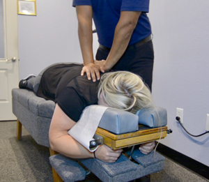 Chiropractic Adjustment by Omaha Chiropractor Arnold Moran
